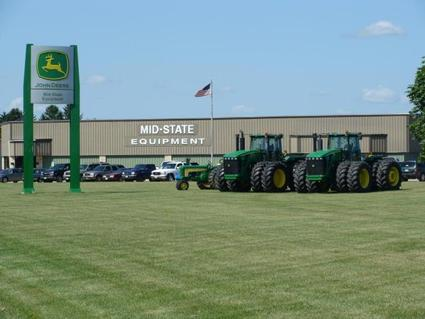 Columbus, WI - This well rounded dealership offers farming equipment large and small, rentals, lawn and garden equipment and so much more.  If you are seeking value, quality and service visit Mid-State Equipment in Columbus, WI