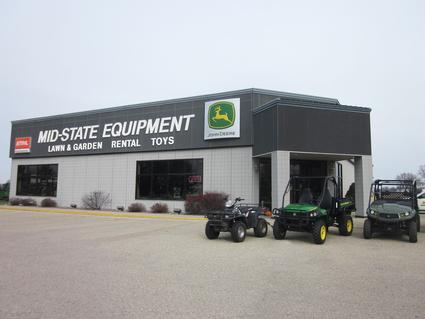 Janesville, Location - This well rounded dealership offers farming equipment large and small, rentals, lawn and garden equipment and so much more.  If you are seeking value, quality and service visit Mid-State Equipment in Columbus, WI